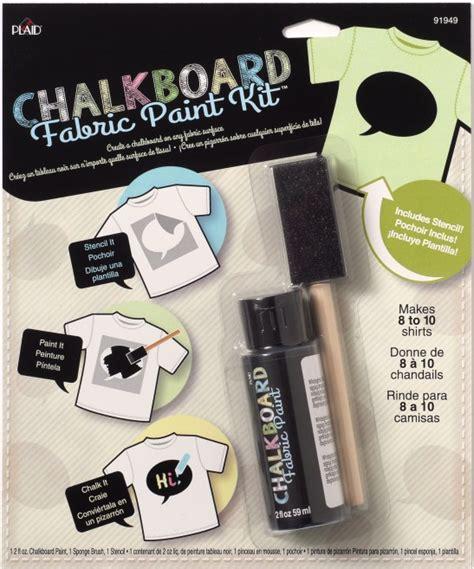 chalkboard paint kit express yourself with chalkboard fabric kits