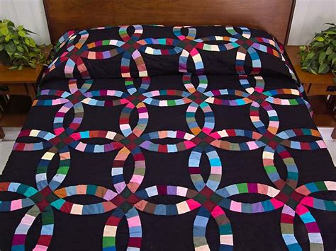 wedding ring quilt outstanding ably made amish