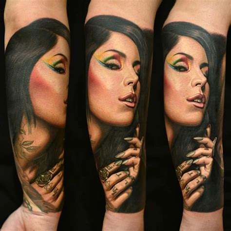 kat von d portrait tattoo d portrait by nikko hurtado d