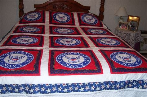 Us Navy Quilt by United States Navy Quilt Stuff