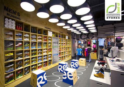 athletic shoe fitting stores reebok 187 retail design