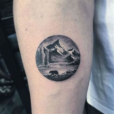 moutain tattoo 30 epic mountain ideas