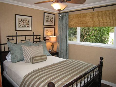 ranch style house windows attractive simple bedroom with a great headboard good window treatment for typical