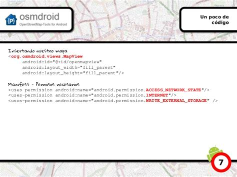 layout in android pdf openstreetmap en android