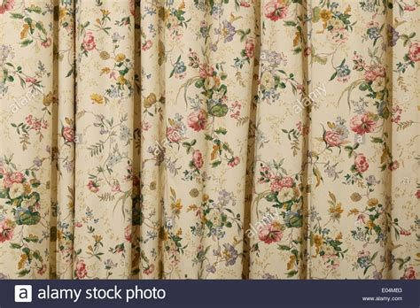 chintz curtains uk floral chintz curtains stock photo royalty free image