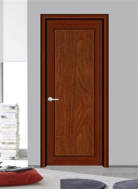 standard solid bedroom door