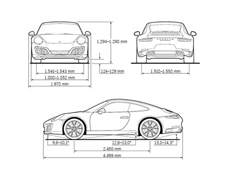Porsche Carrera 4s Technische Daten by Porsche 911 Carrera S 2015 Autokatalog Ma 223 E