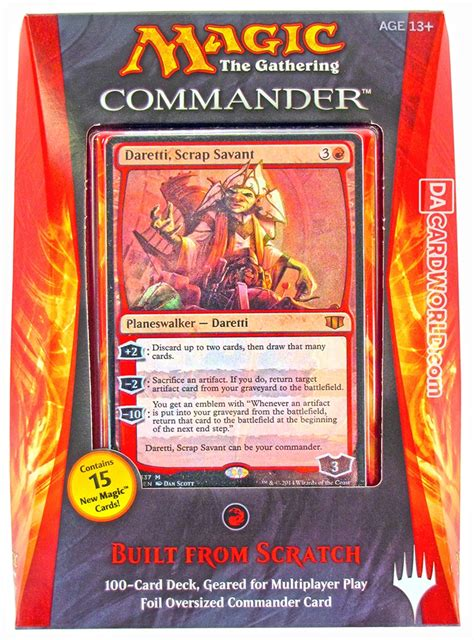 Magic The Gathering Commander Deck Box 2014 Da Card World