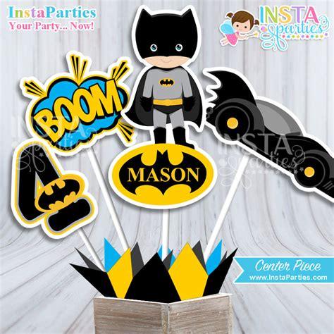 printable batman birthday decorations batman favor tags printable batman party favors tag