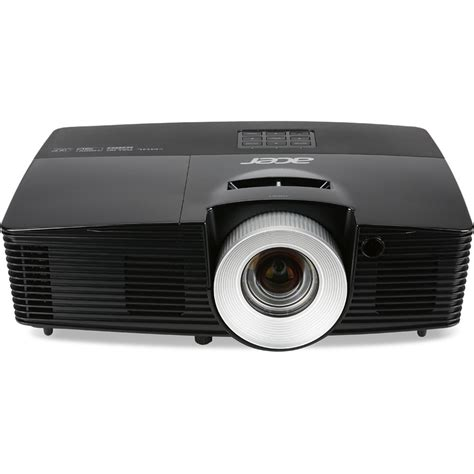 Projector Acer Dlp acer p5515 hd dlp 3d projector black mr jlc11 00a b h