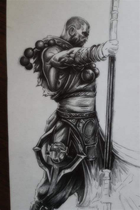 Diablo 3 Sketches by Diablo 3 Monk Drawing By Tolleam On Deviantart