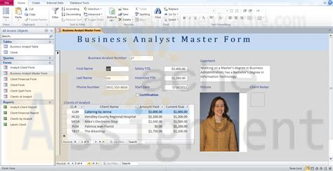 design form access 2010 microsoft access 2010 chapter 5 multitable forms camashaly