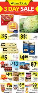 Winn dixie weekly ad circular winn dixie 3 day sale