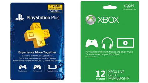 Buy Xbox Live Gift Card - smart buy get a 1 year xbox live gold or playstation plus for under 40