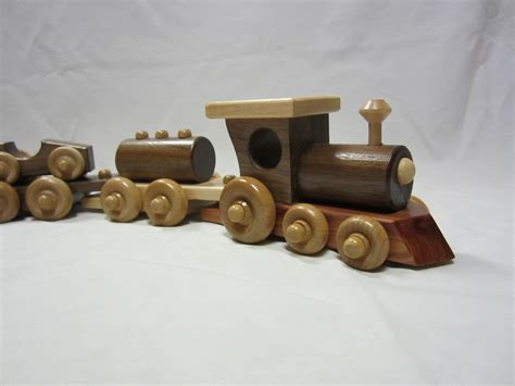 Handcrafted Wood Products - amish handcrafted 5pc wooden interlocking set