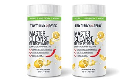 Master Cleanse Lemon Cayenne Maple Detox by Tiny Tummy Detox Lemon Cayenne Maple Powder 30 Or 60