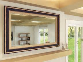 tv mirror beamsplitter mirror frame my tv