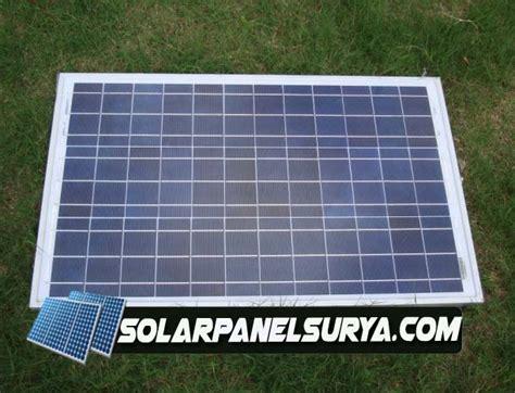 Solar Panel Cell Surya Module Gh 100 Wp 100wp 12v 12 V Poly Murah solarcell panel surya 100watt jual solar panel surya