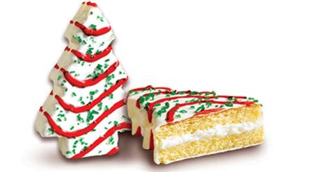 little debbie christmas tree cakes 174 snack cakes vanilla