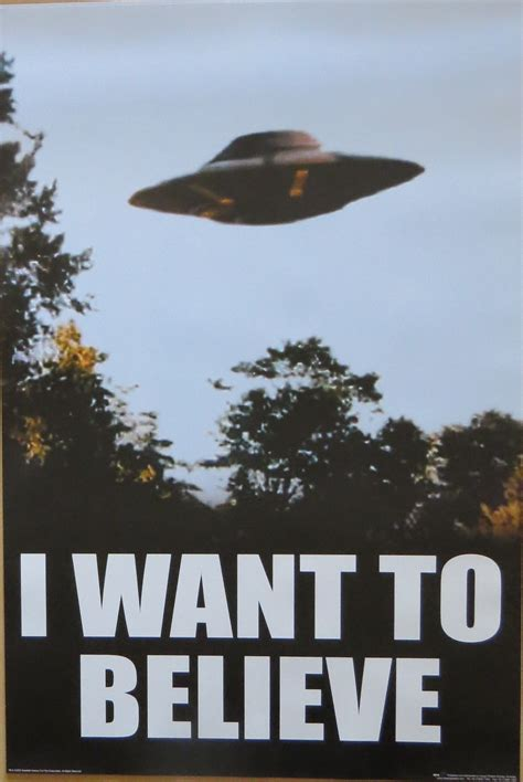I Want To Believe x files i want to believe licensed poster 91cm x 61cm