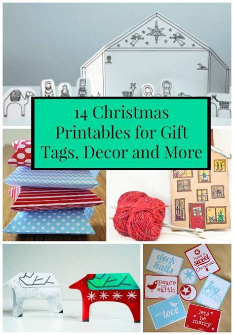 extra large printable gift tags 14 christmas printables for gift tags decor and more