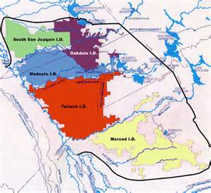 california irrigation districts map east san joaquin water quality framework