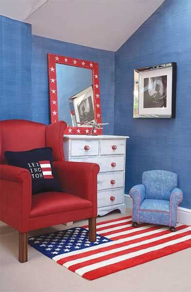 blue and red boys bedroom nautical decor ideas for young lovers of the sea dreams in