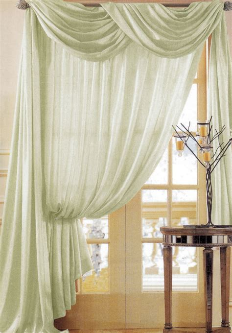 Window Scarves For Large Windows Inspiration Lace Window Scarf All About House Design Unique Window Scarf Ideas