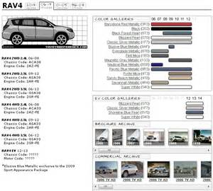 toyota interior color codes 2014 toyota camry color chart autos post