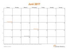 Kalender 2018 Juni Juli Juni 2017 Kalender Mit Feiertagen