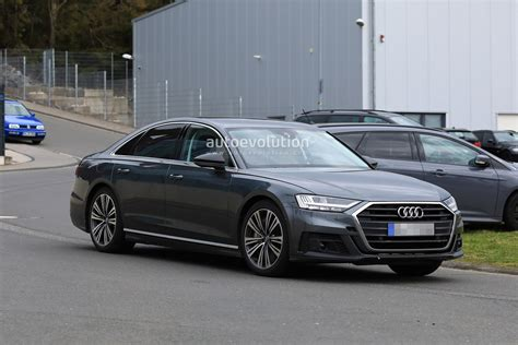 2020 Audi S8 Plus 2020 audi s8 spied with exhaust at the nurburgring