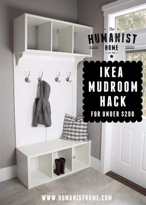 ikea mudroom hack 75 more ikea hacks that will blow you away diy joy