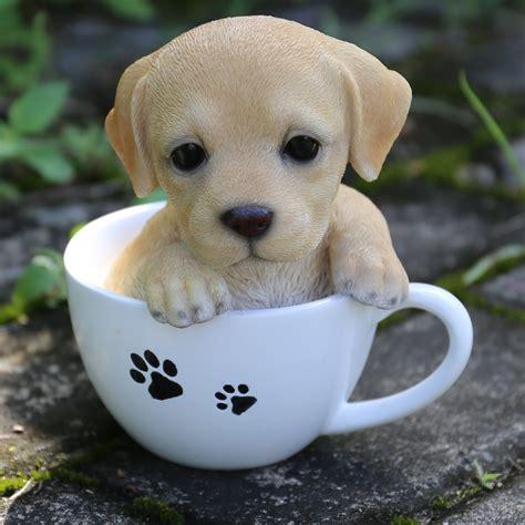 Hi Line Gift Ltd. Teacup Labrador Puppy Statue & Reviews