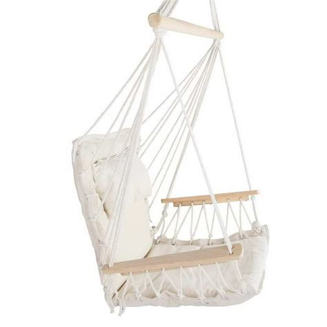swing cream hammock swing chair cream