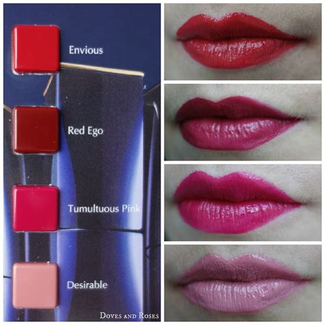 Lipstick Estee Lauder Color Envy color envy by estee lauder doves and roses