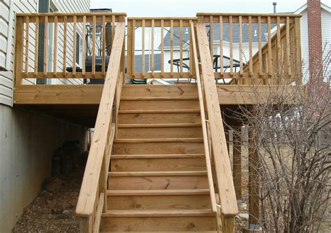 decking banister handrails for stairs deck wooden handrail for stairs