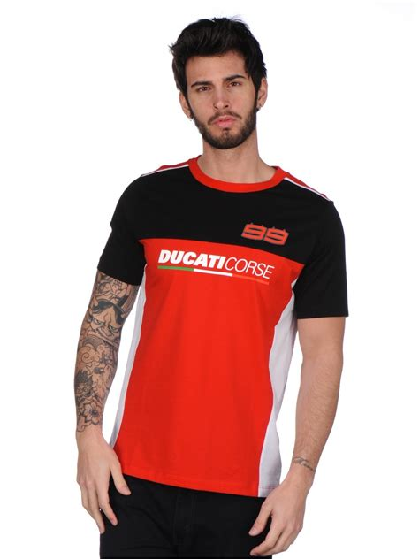 Tshirt Jorge Lorenzo t shirt ducati corse dual jorge lorenzo 99