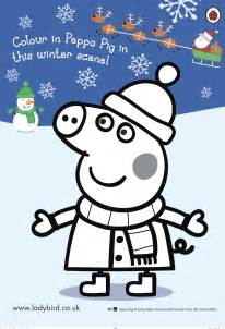 Peppa pig grandpa christmas coloring pages 2557 peppa pig christmas