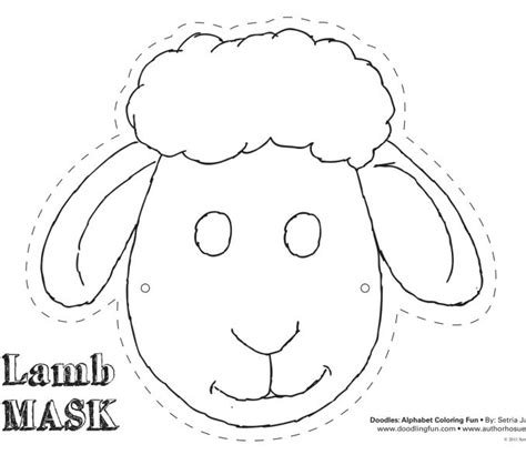 sheep template for preschool kids coloring europe