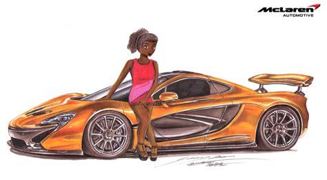 mclaren p1 drawing easy mecca s mclaren p1 1 7 million exotic supercar by toyonda