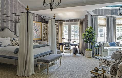 Showhouse Bedroom Ideas by The Master Bedroom Celerie Kemble For The Hton