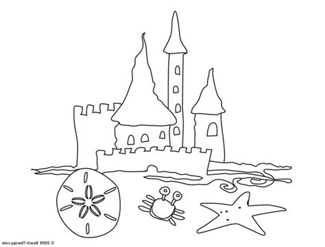 free coloring pages sand castle free coloring pages of easy castle draw