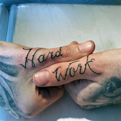 hard work tattoo designs 103 impressive script tattoos designs and ideas golfian