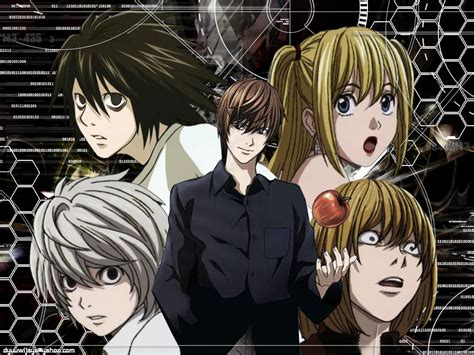 Kameja Anime L One L Dheat Note 1 why can t we light yagami why do we venerate l an