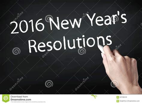 new year 2016 in writing 2016 new year resolutions stock photo image 63196243