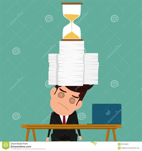 hard work man tired man business stock vector 660628576 tired cartoons illustrations vector stock images 5443