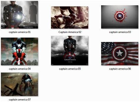download theme windows 7 captain america win 7 captain america theme by mav3 on deviantart