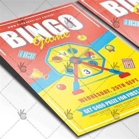 bingo card psd template bingo premium flyer psd template psdmarket