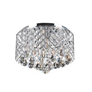 flush mount chandelier nerisa chrome flush mount chandelier
