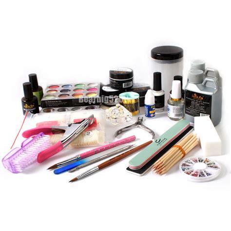 Kit Acrylic Coat Acrylic Nail Kit Shop Necessary Acrylic Pen Powder Liquid Top Coat Tool Set Nail